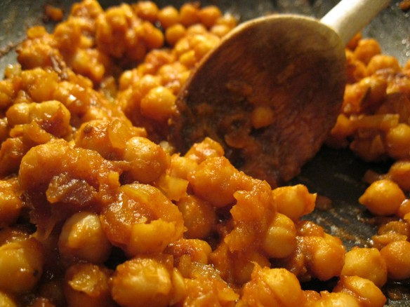 chickpeas with star anise